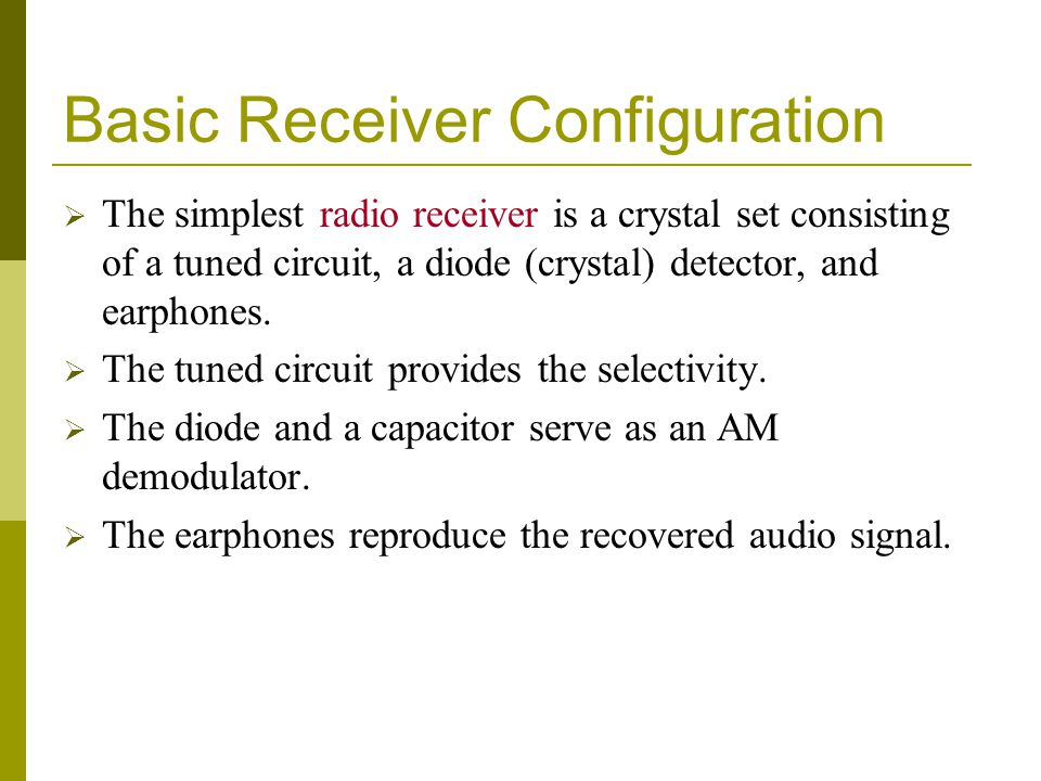 AGC Operation A common emitter IF amplifier with bias derived from voltage divider resistors can be configured.