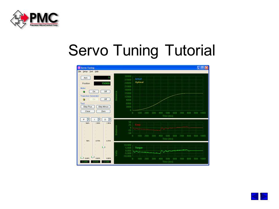 1 Servo Tuning Tutorial