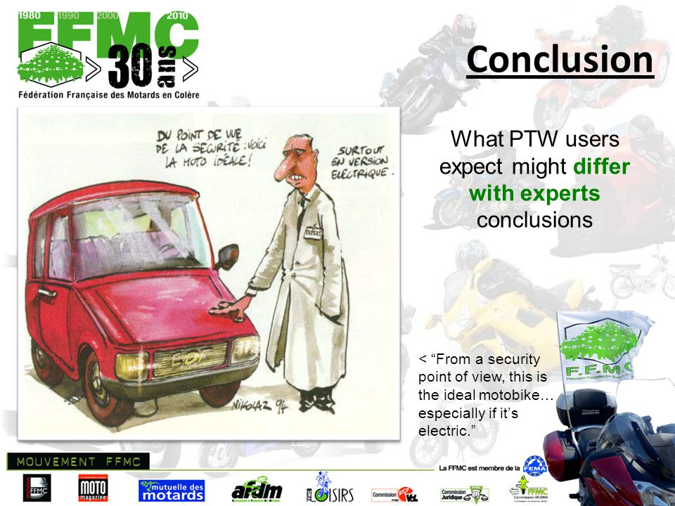 Thank you for your attention ! For more information www.ffmc.fr