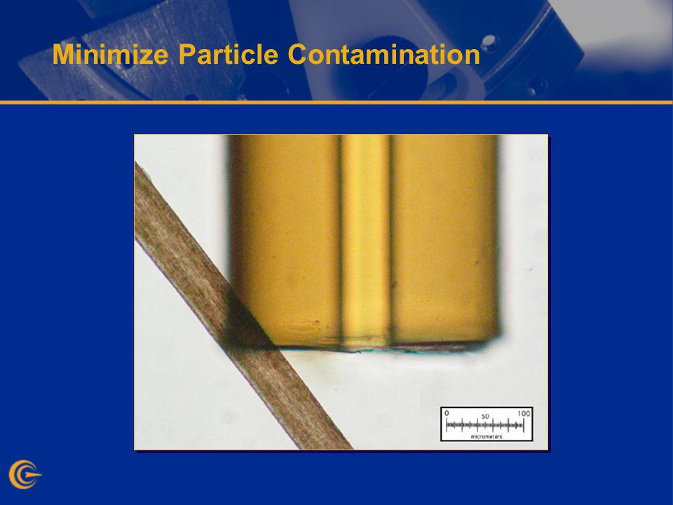 Minimize Particle Contamination