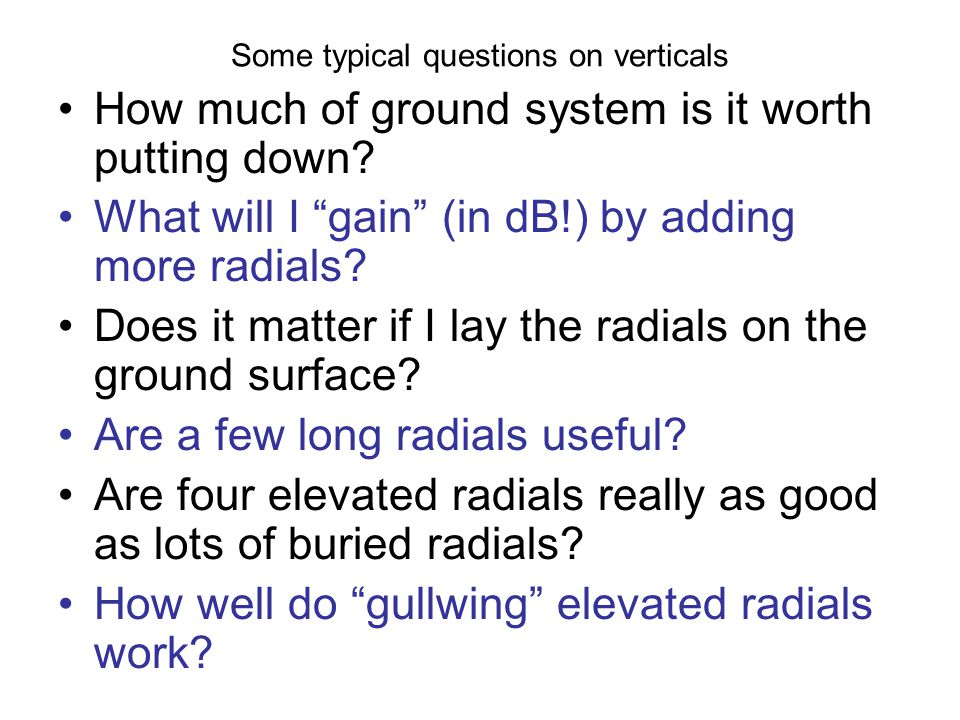 We can use modeling or calculations to answer these questions but most people dont have a lot confidence in mathematical exercises.