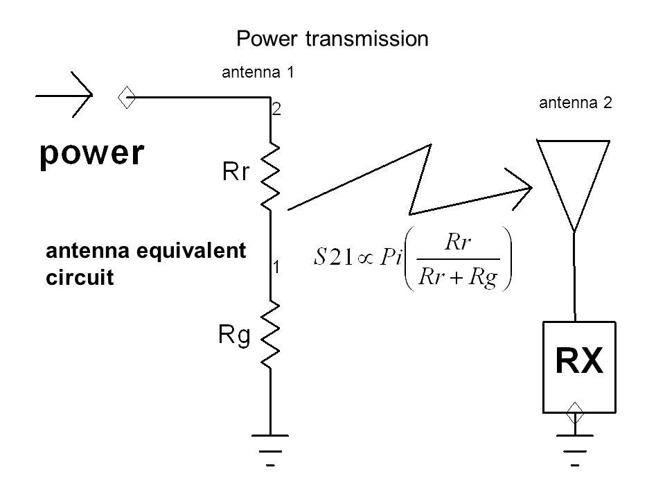 Power transmission antenna equivalent circuit antenna 1 antenna 2