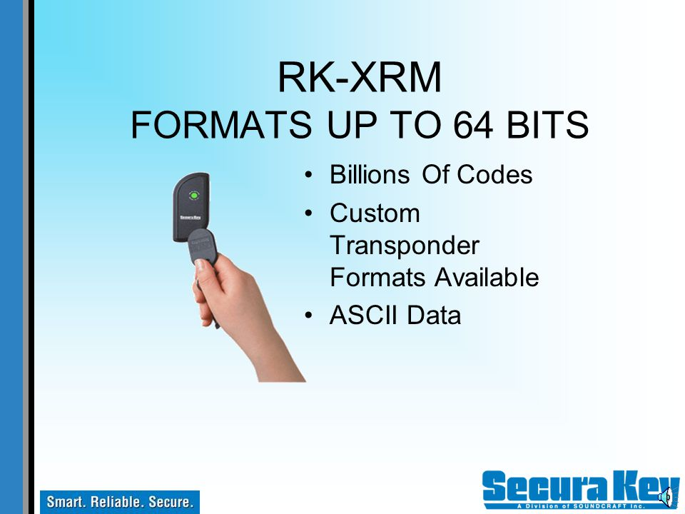 RK-XRM 125 KHZ PROXIMITY Conventional Proximity Cards Low-Cost Cards and Key Tags Use Same Card With RK-XRM And Secura Key Access Control Systems Cust