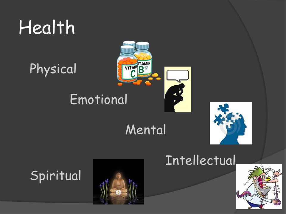 Health Physical Emotional Mental Intellectual Spiritual