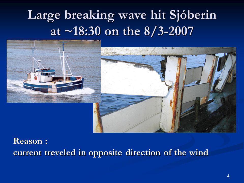 5 Buoy Time H m0 Dir Buoy Time H m0 Dir North WV-312:04 9.7 338 West WV-2 12:22 5.4 359 East WV-111:51 5.6 17 South WVD-412:39 7.4 342 Existing operational wave forecast http://vs.en.sigling.is – based on ECMWF forecast http://ocean.dmi.dk