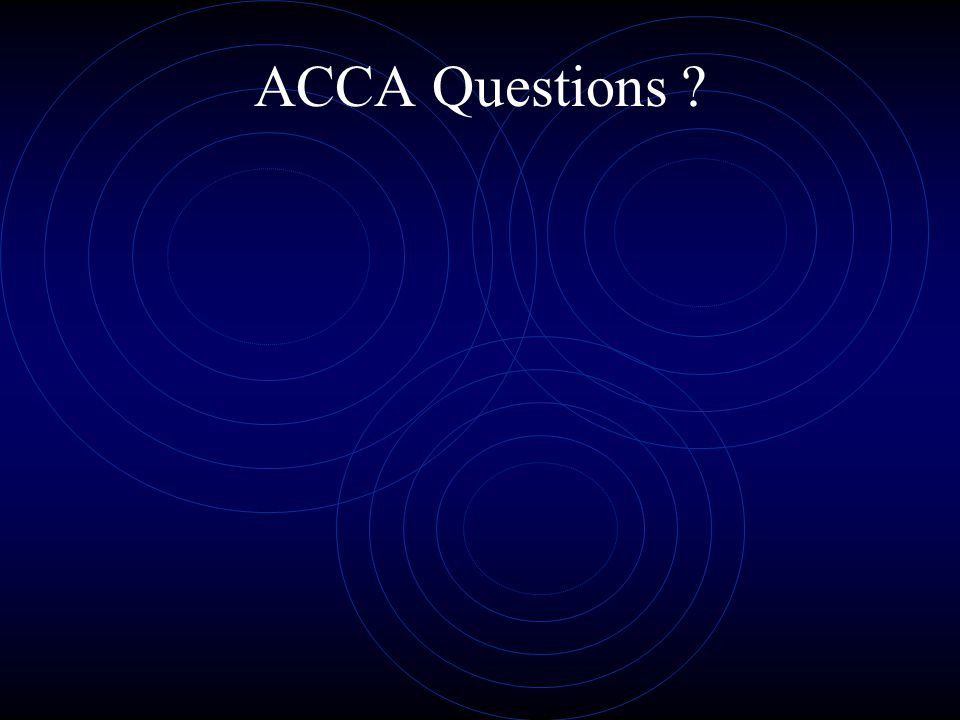ACCA Questions ?