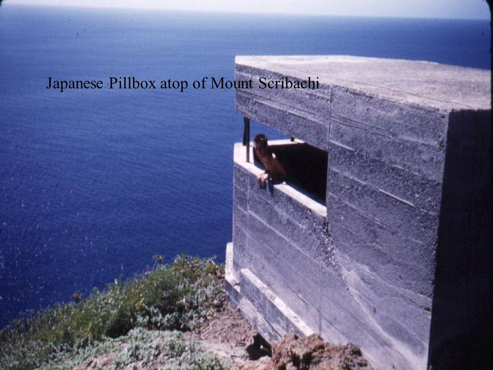 Japanese Pillbox atop of Mount Scribachi