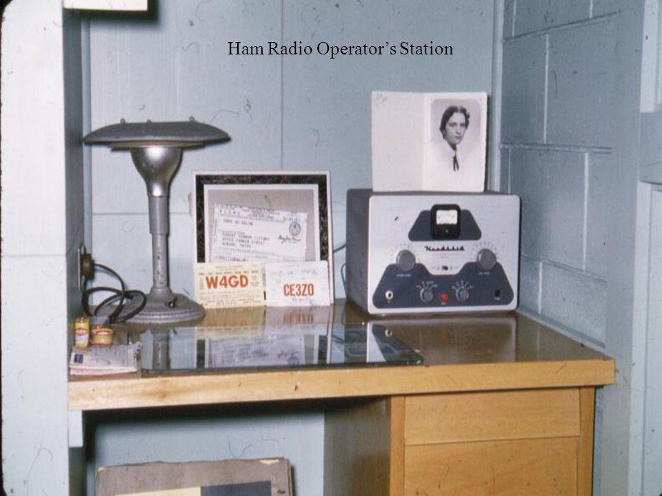 Ham Radio Operators Station