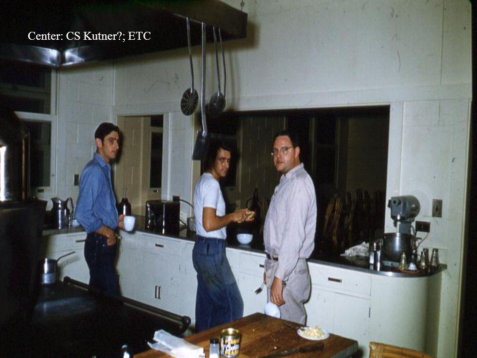 Center: CS Kutner?; ETC