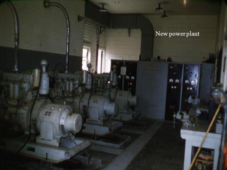 New power plant