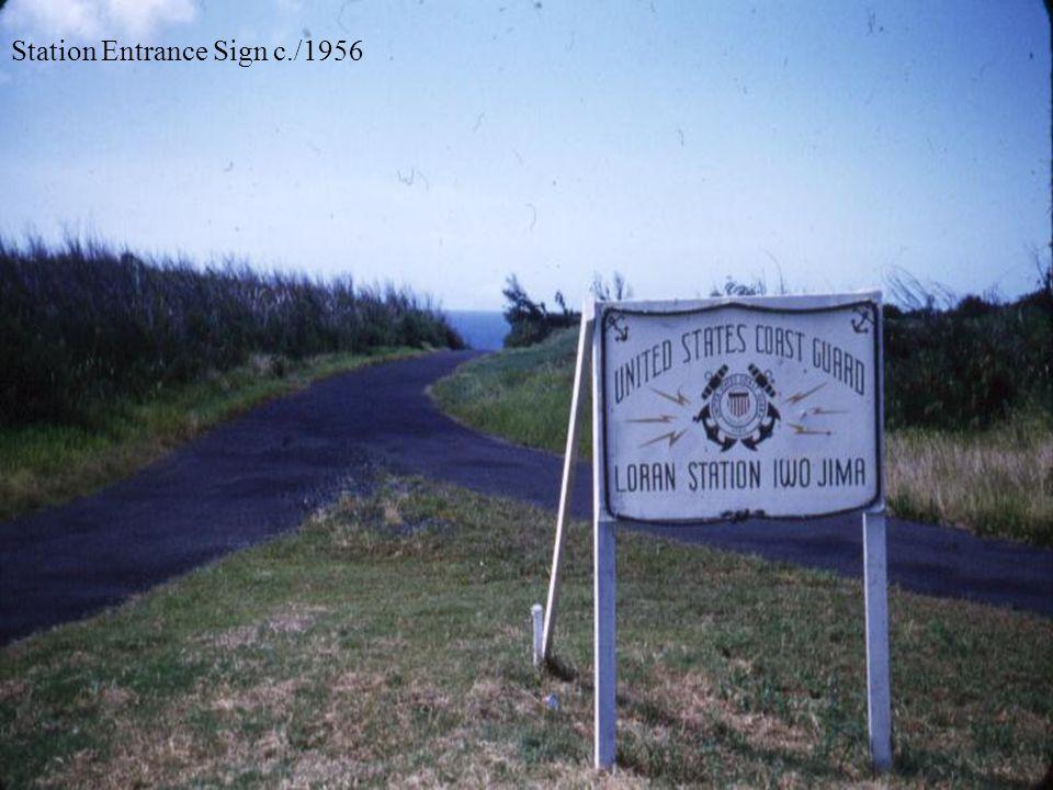 Station Entrance Sign c./1956