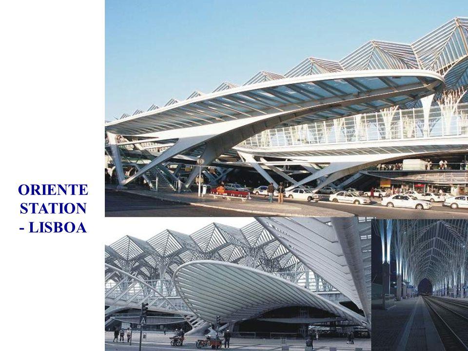 Gare Orient Lisbonne, Portugal, 1993 ÷ 1998