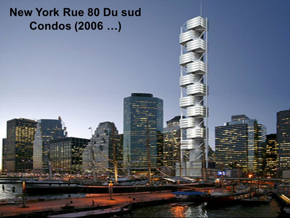 New York Trade Center (2006 …) January 22,2004, Santiago Calatrava revealed its design for