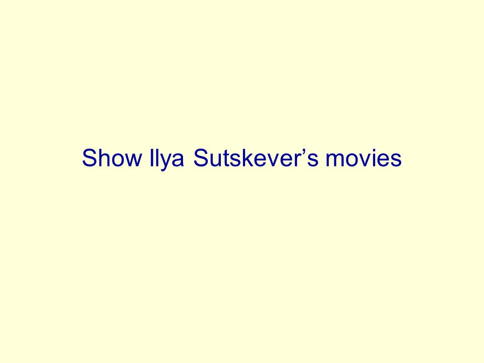 Show Ilya Sutskevers movies