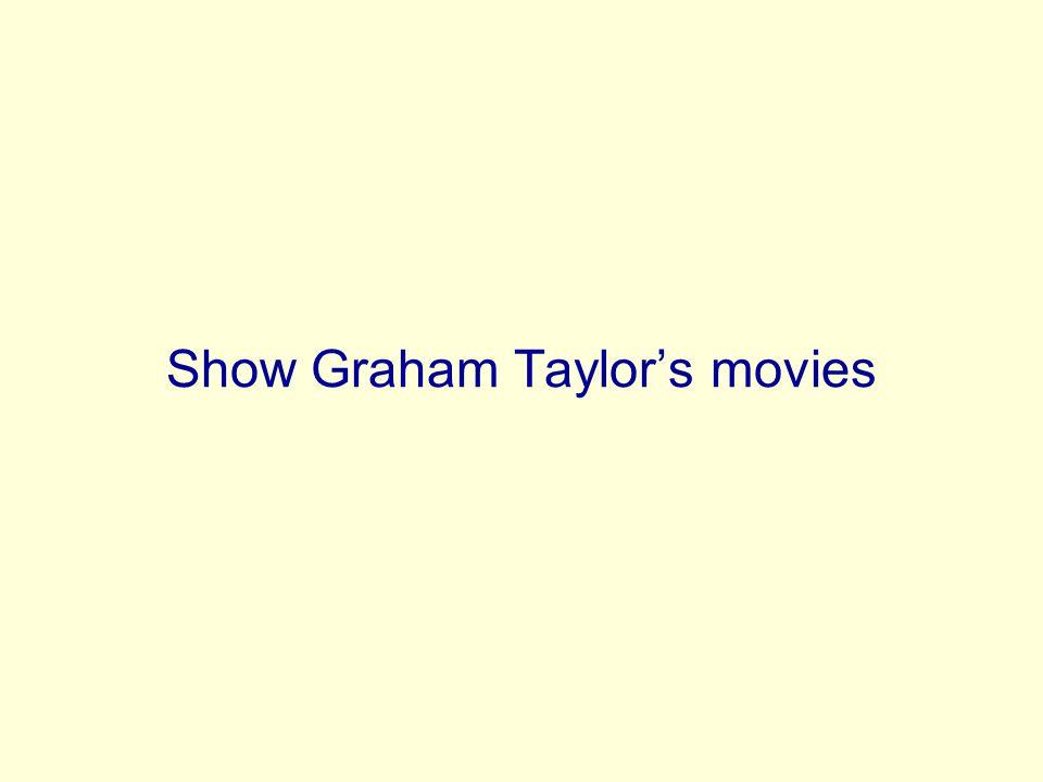 Show Graham Taylors movies
