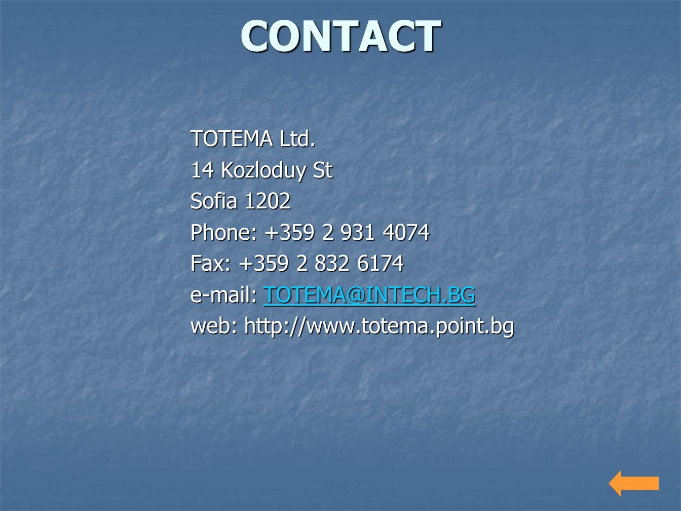 TOTEMA Ltd.