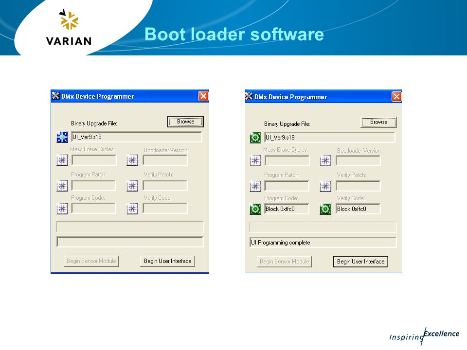 Boot loader software