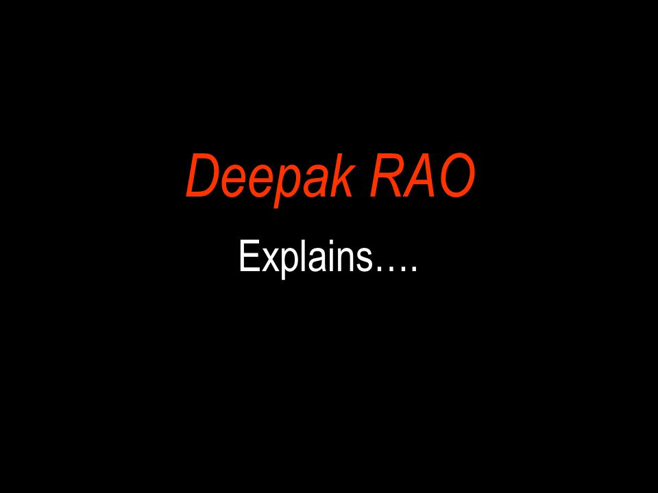 Deepak RAO It is actually very much like a Computer Motherboard which has….