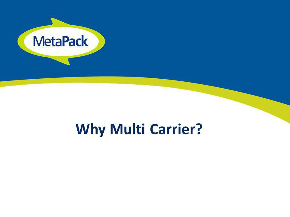 Why Multi Carrier?