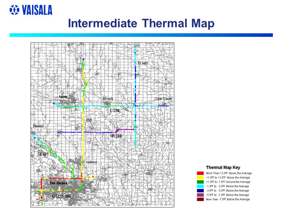 Damped Thermal Map