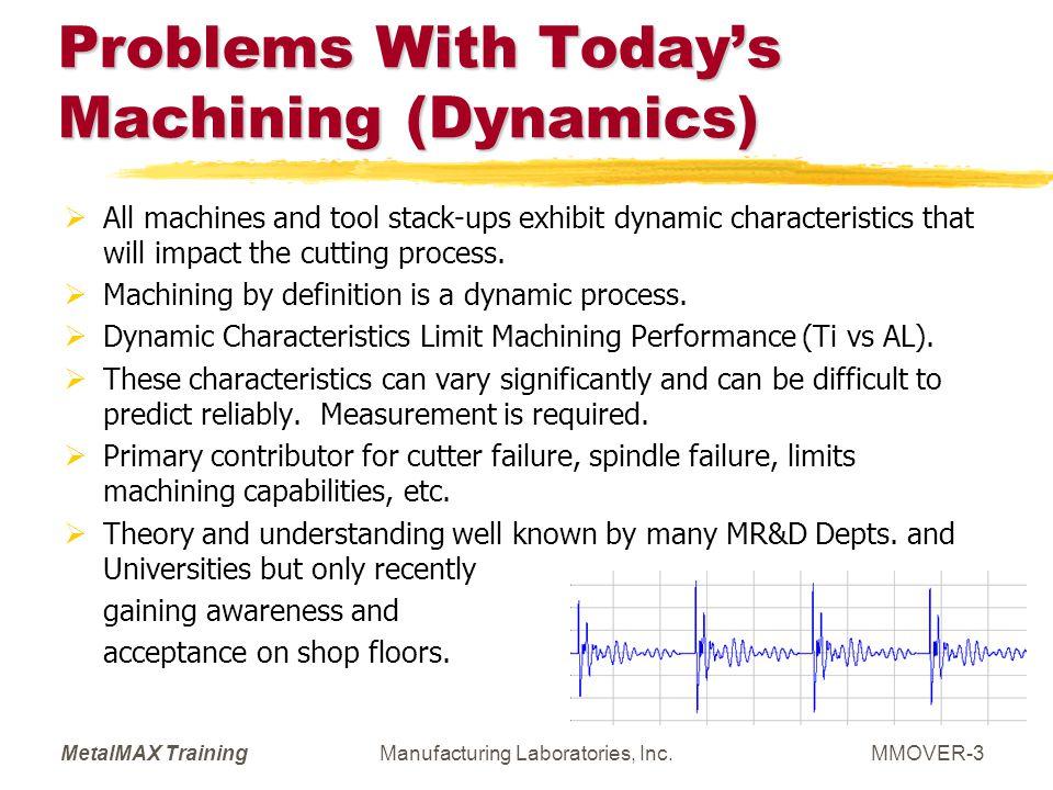 MetalMAX TrainingManufacturing Laboratories, Inc.MMOVER-64 Implementation Strategy 6: Predictive and Preventive Maintenance.