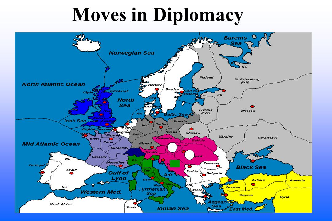 Moves in Diplomacy