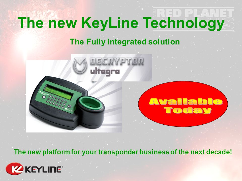 The Fully integrated solution The new platform for your transponder business of the next decade.