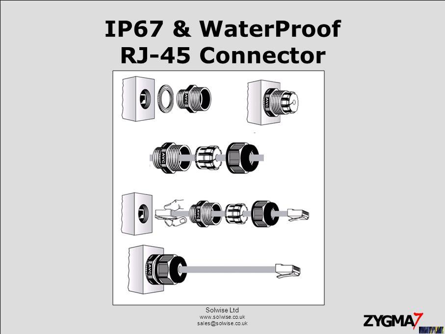Solwise Ltd www.solwise.co.uk sales@solwise.co.uk IP67 & WaterProof RJ-45 Connector