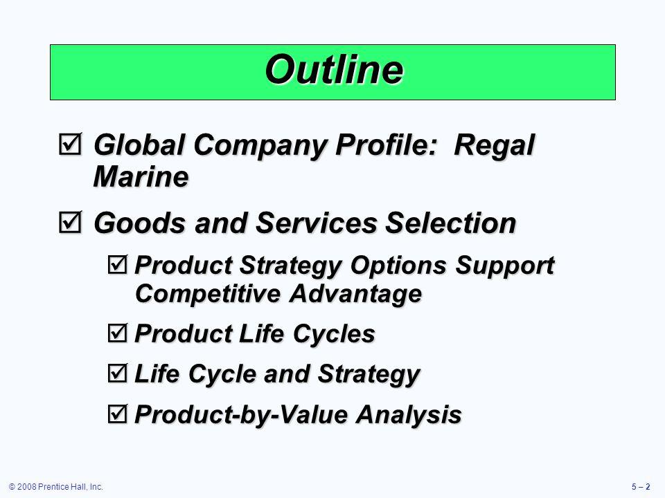 © 2008 Prentice Hall, Inc.5 – 23 Product Development System Fig. 5-3