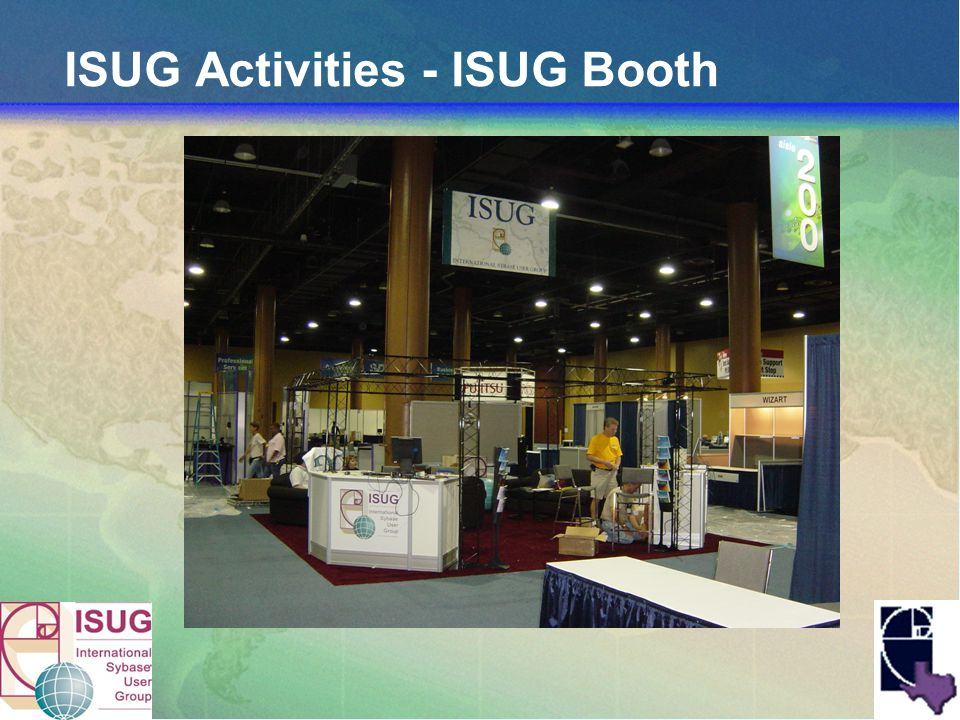 ISUG Activities - ISUG Booth