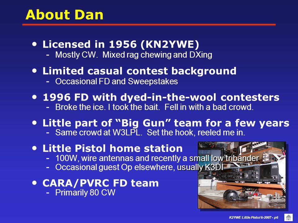 K2YWE Little Pistol 6-2007 - p56 1K 2N2222, 2N2219...