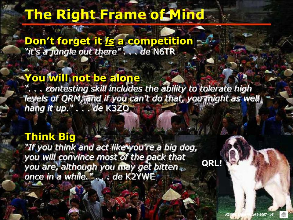 K2YWE Little Pistol 6-2007 - p8 The Right Frame of Mind QRL.