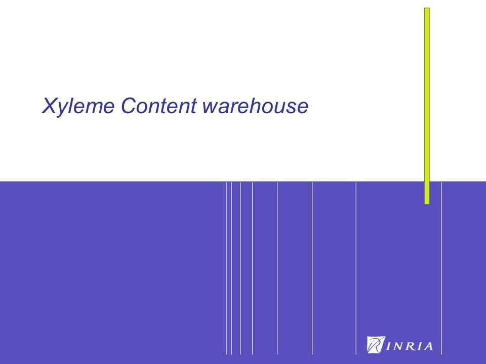 20 Xyleme Content warehouse