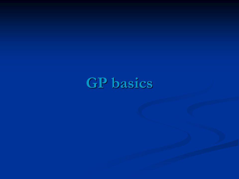GP basics