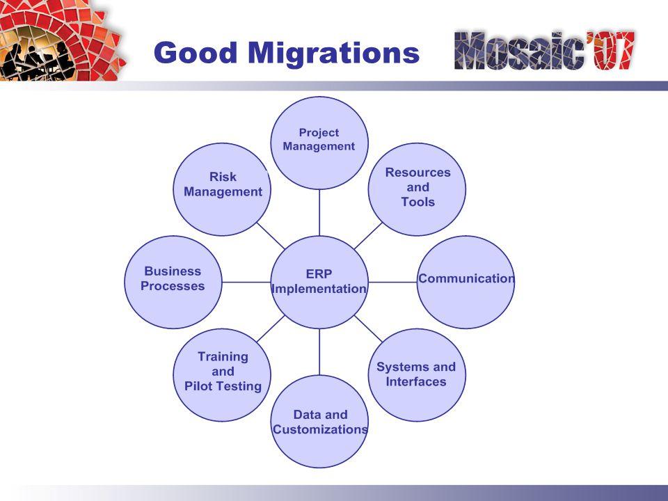 Good Migrations