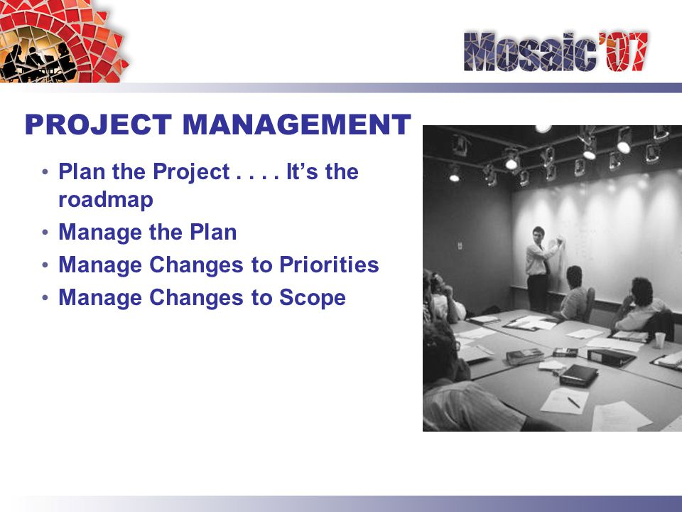 PROJECT DELIVERABLES Define Project Deliverables Document Project Deliverables as Milestones Identify Responsibility for Project Deliverables Assign Timeline to Project Deliverables Manage Timeline