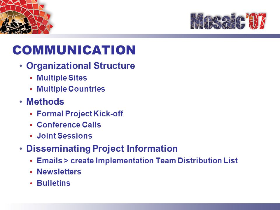 SUCCESSFUL IMPLEMENTATIONS 1.PLANNING 2.EXECUTION