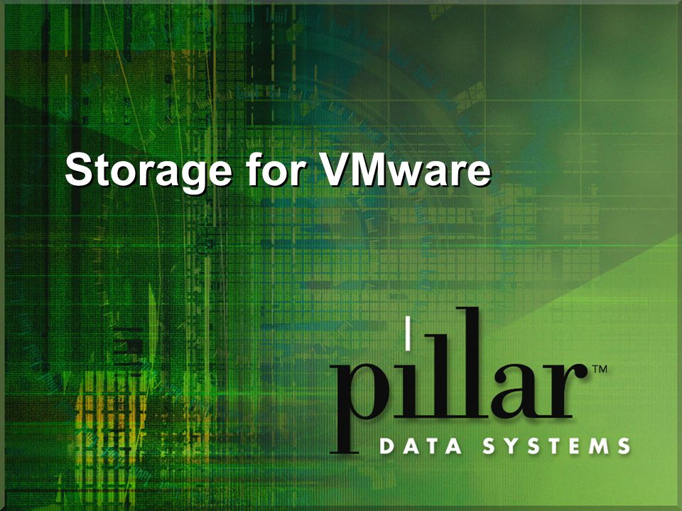 Storage for VMware