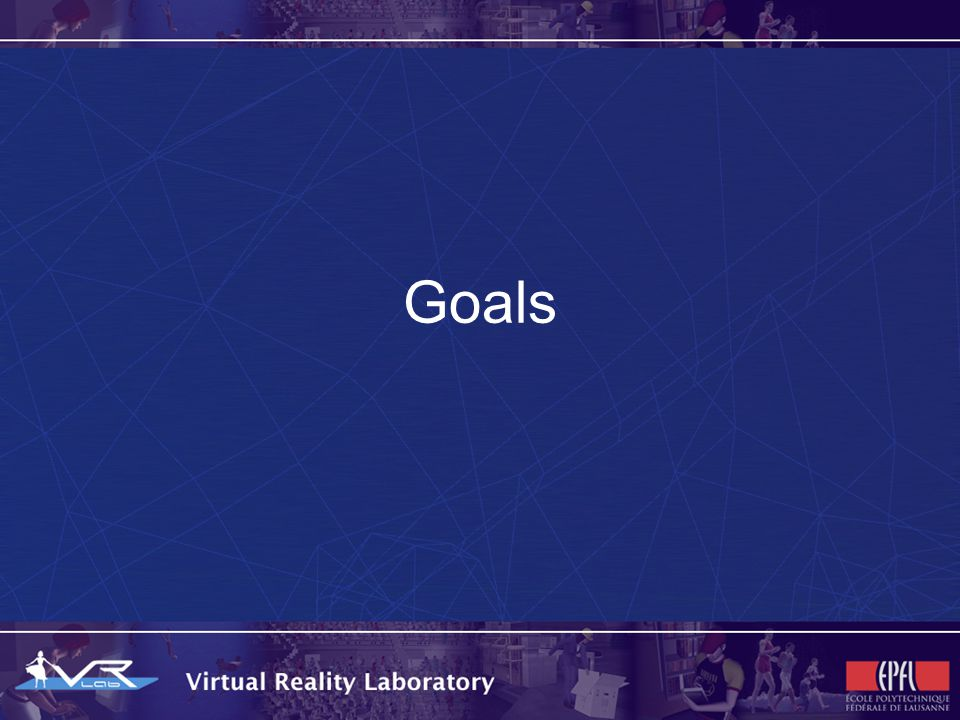 Goals (long term overview) This project aims to let authors (artists and programmers) to create virtual contents in a way less closed and limited to a specific hardware configuration or device The Mental Vision will let you define an abstract virtual content and the technology itself will adapt it for you, in order to fit the device and context you actually want to use to access it