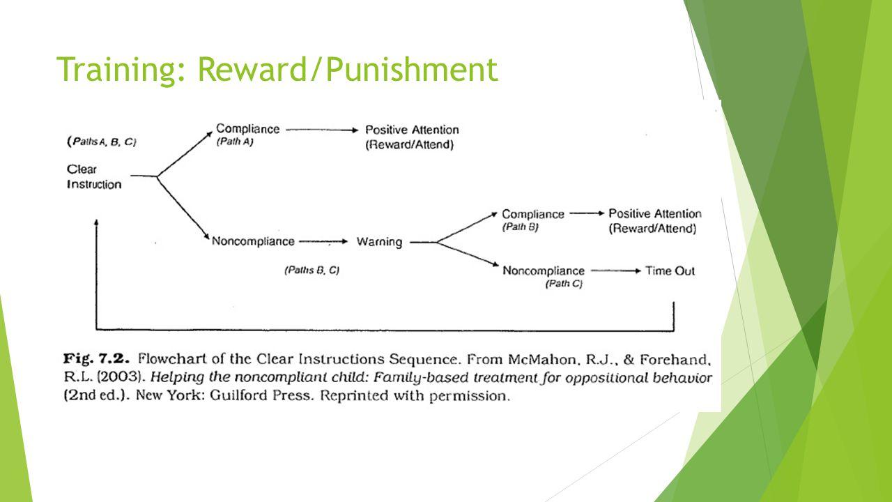 Training: Reward/Punishment