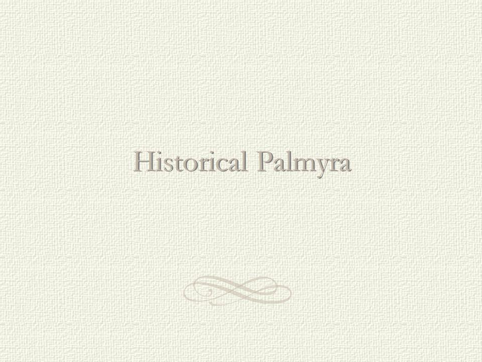 Historical Palmyra