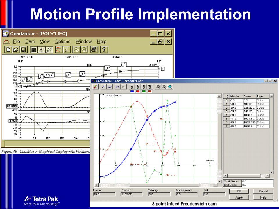 Mechatronics Motion Profile Implementation
