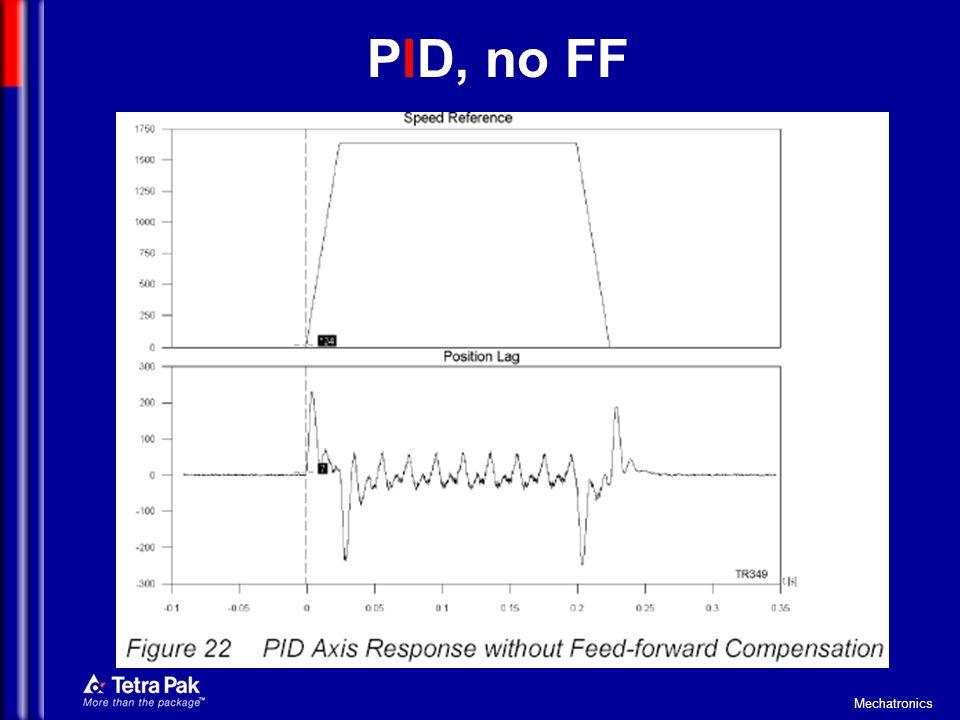 Mechatronics PID, no FF