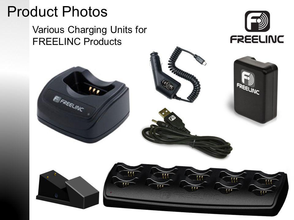 Product Photos Various Charging Units for FREELINC Products