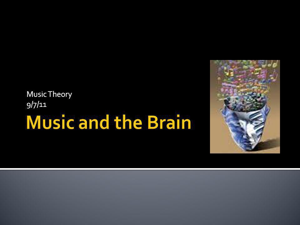 Music Theory 9/7/11