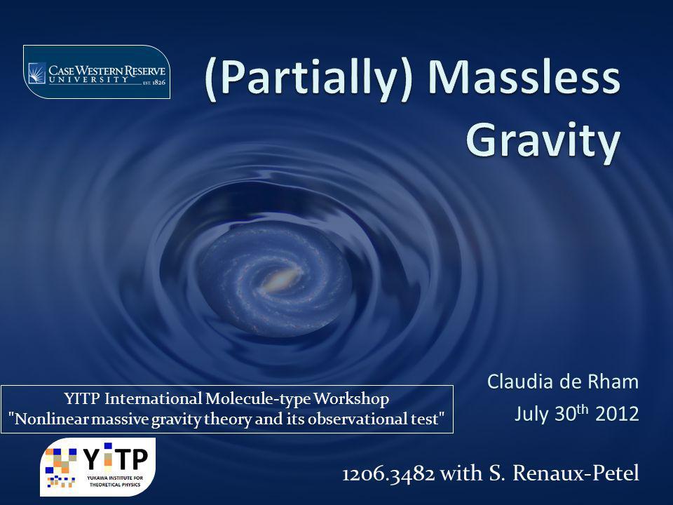 Massive Gravity effectively filters out a CC Massive Gravity k2k2 m2m2