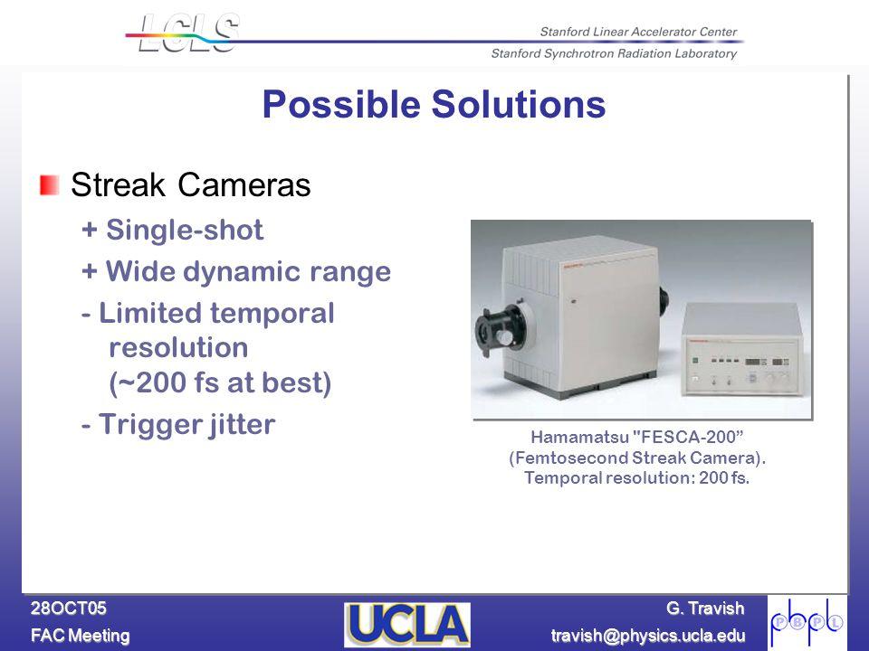 G. Travish FAC Meeting travish@physics.ucla.edu 28OCT05 Hamamatsu