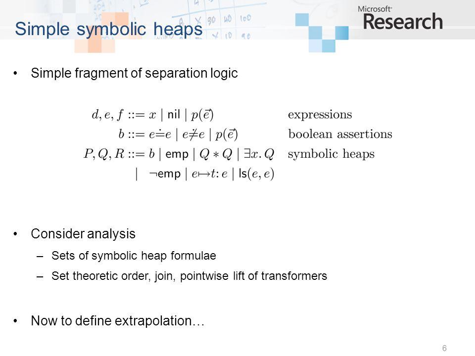 17 Predicate evaluation algorithm
