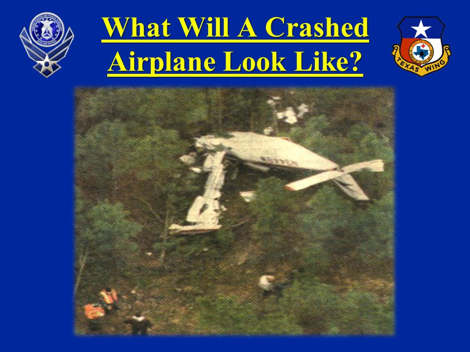 What Will A Crashed Airplane Look Like?