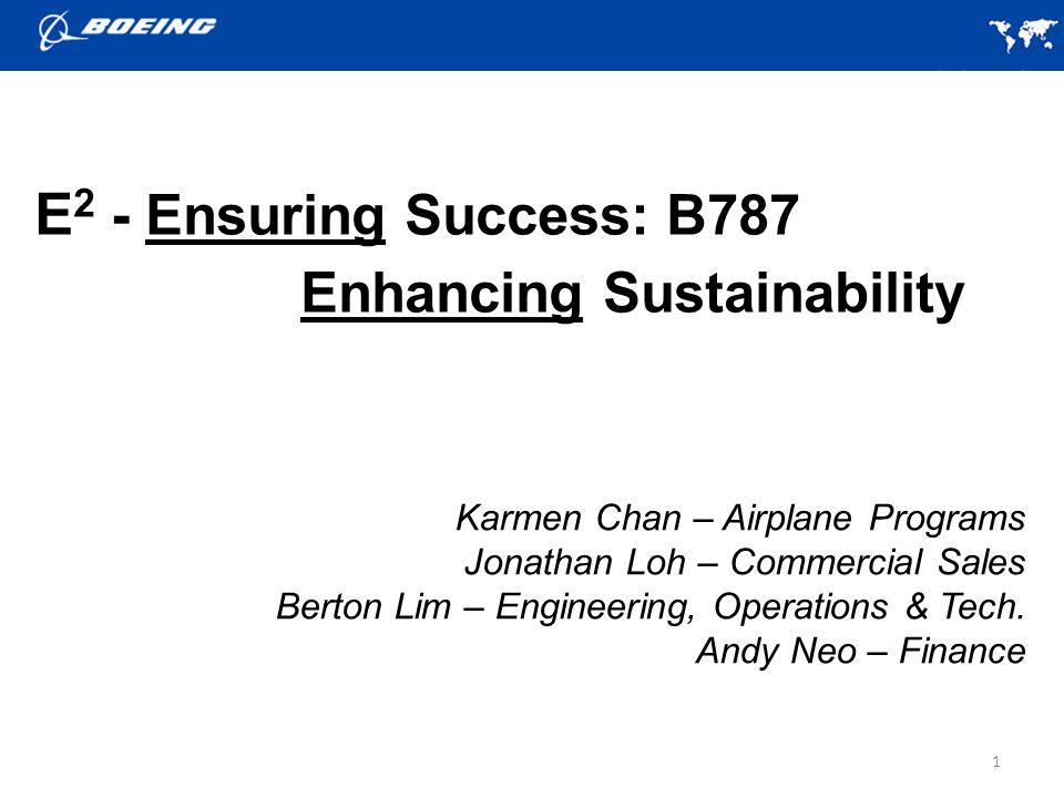 1 Karmen Chan – Airplane Programs Jonathan Loh – Commercial Sales Berton Lim – Engineering, Operations & Tech.